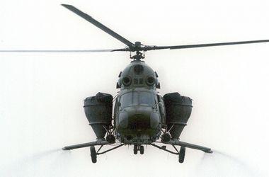 В России вертолет раздавил человека