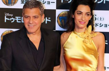 Джордж Клуни не может провести и неделю без жены