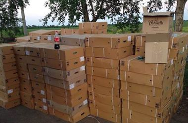 Правоохранители задержали 22 грузовика с водкой и сигаретами для боевиков
