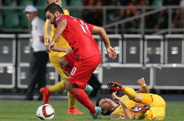 Сборная Турции вырвала победу у Казахстана в отборе на Евро-2016