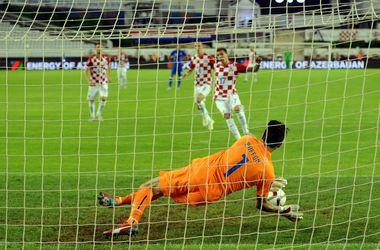 Хорватия и Италия сыграли вничью в отборе на Евро-2016