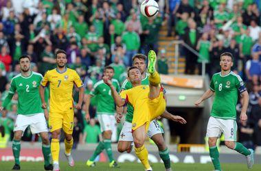 Северная Ирландия и Румыния сыграли вничью в отборе на Евро-2016