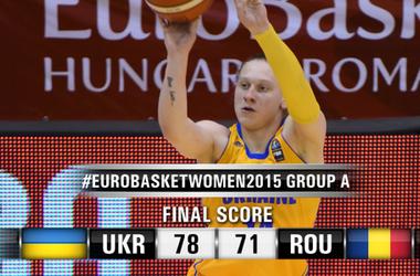 Сборная Украины выиграла первый матч на Евробаскете-2015