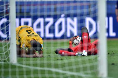 Сборная Уругвая стартовала с победы на Кубке Америки