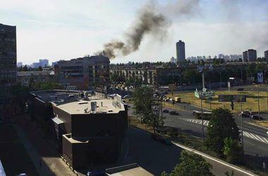 В Киеве горела пятиэтажка