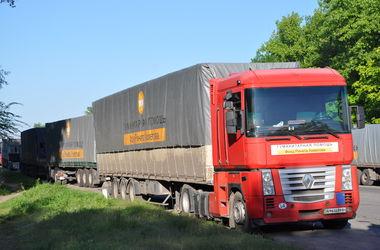 Автоколонна с гуманитарной помощью от Штаба Рината Ахметова отправится в Мариуполь