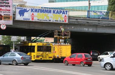 Движение троллейбусов в Киеве восстановлено