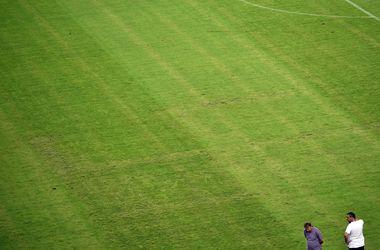 УЕФА открыл дисциплинарное дело за свастику на газоне в Сплите