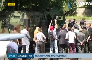 Украинские разработчики представили беспилотники, бронеавтомобили и современную амуницию