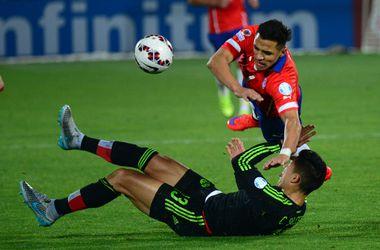 Чили и Мексика забили шесть мячей на Кубке Америки
