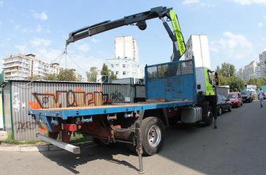 Киевские ларьки теперь будут устанавливать по конкурсу