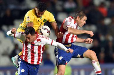 Сборная Парагвая одержала первую победу на Кубке Америки