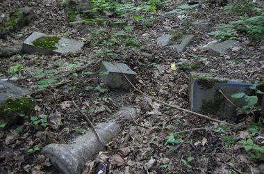 Киевляне просят власти столицы оградить забором остатки старого кладбища в Бабьем Яру