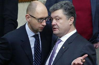 Порошенко и Яценюк собрались в Раду