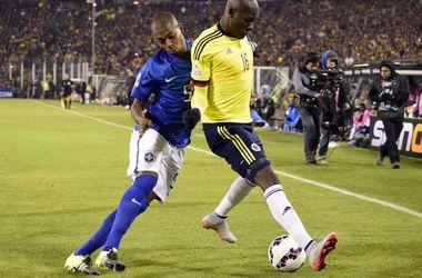 Бразилия проиграла Колумбии на Кубке Америки