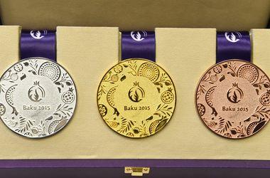 Европейские игры: таблица медалей на 18 июня