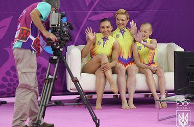 Женская команда Украины по спортивной гимнастике - четвертая на Европейских играх