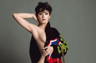 Кэти Перри разделась для модного бренда