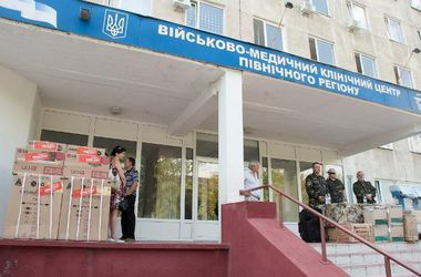 В госпиталь Харькова доставили 25 раненых бойцов