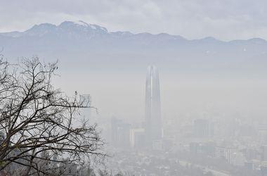 Перед матчем Кубка Америки Сантьяго охвачен смогом