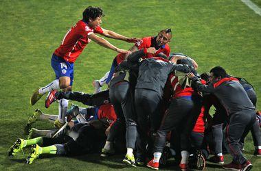 Сборная Чили стала первым полуфиналистом Кубка Америки