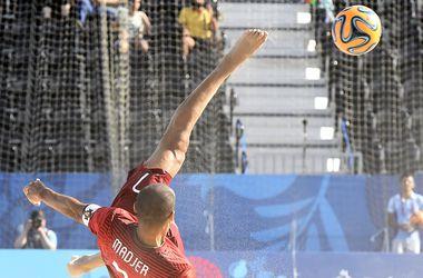 """Украинские """"пляжники"""" проиграли Португалии на Европейских играх"""