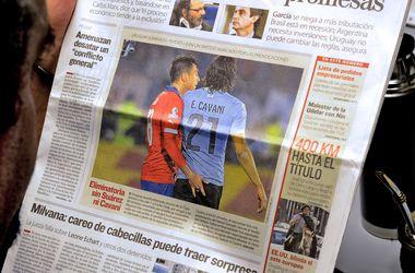 Игрок сборной Чили дисквалифицирован до конца Кубка Америки за непристойное поведение