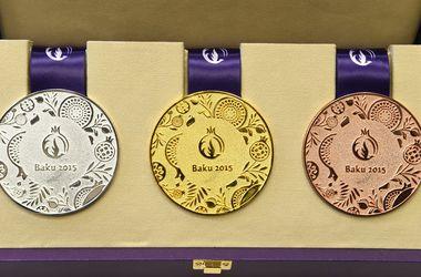 Европейские игры: таблица медалей на 25 июня