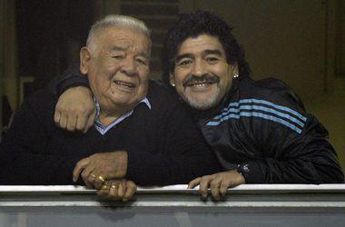 Умер Диего Марадона-старший