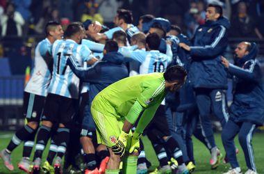 Сборная Аргентины вышла в полуфинал Кубка Америки