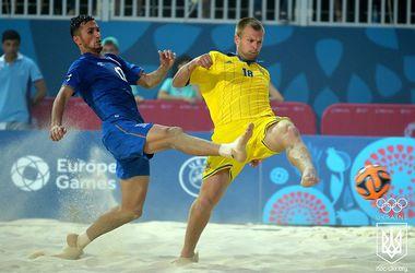 Украинские пляжники заняли шестое место на Европейских играх