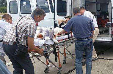 В Одессу прибыл очередной борт с ранеными бойцами с востока