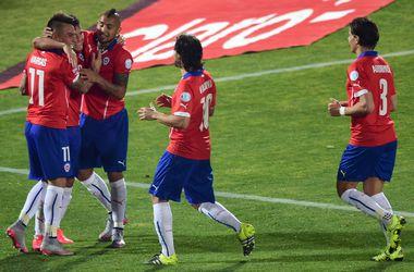 Сборная Чили вышла в финал домашнего Кубка Америки