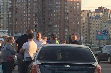 Пьяный водитель на переходе сбил пешехода