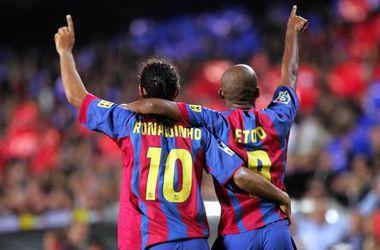Это'О и Роналдиньо снова будут играть в одной команде
