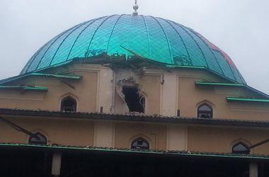 В Донецке снаряды попали в мечеть