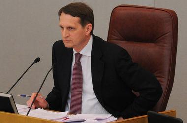 В Кремле возмущены тем, что Финляндия применила против Нарышкина санкции за аннексию Крыма