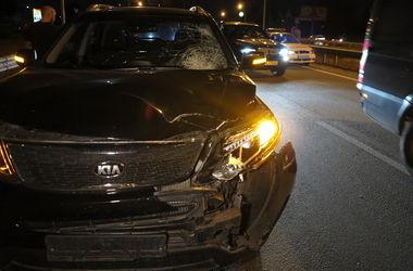 На Богатырской машина сбила насмерть пешехода, отбросив на 30 метров