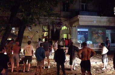 В центре Одессы прогремел взрыв у ресторана патриотов