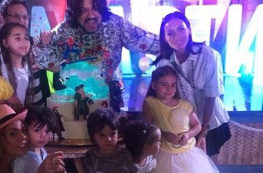 Киркоров показал дочь Ани Лорак на дне рождения сына (фото)