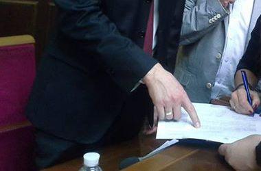 В Раде собирают подписи за отмену нашумевшего закона о валютных кредитах