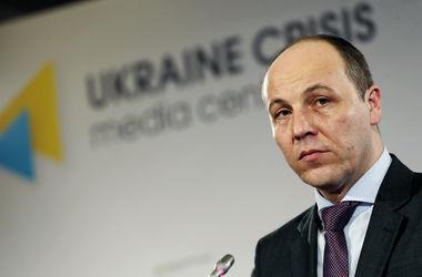 Парубий рассказал, когда на Донбассе могут пройти выборы