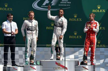 Хэмилтон стал победителем Гран-при Великобритании