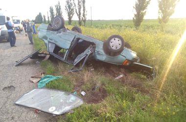 Масштабное ДТП в Запорожской области: пострадали 4 человека