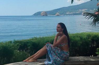 Эвелина Бледанс похвасталась откровенным фото из Крыма (фото)
