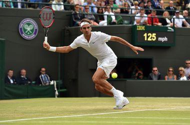 Роджер Федерер стал первым полуфиналистом Уимблдона