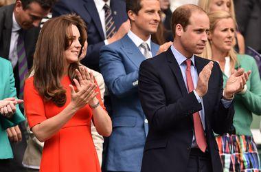 Принц Уильям и Бекхэм болели за Энди Маррея в четвертьфинале Уимблдона