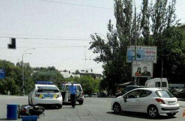 В Киеве водитель сбил 89-летнего велосипедиста