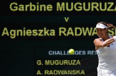 Гарбинье Мугуруса впервые в карьере вышла в финал турнира