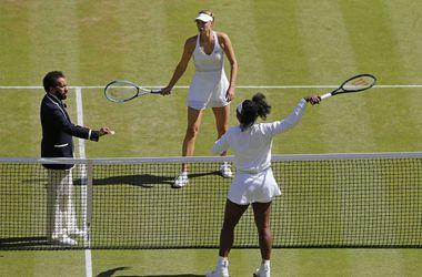 Серена Уильямс обыграла Марию Шарапову в полуфинале Уимблдона